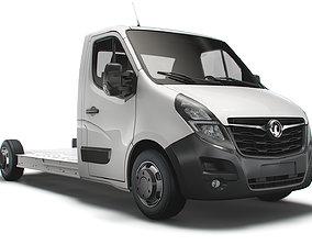 3D Vauxhall Movano FWD LL35 L3H1 Platform Cab 2021