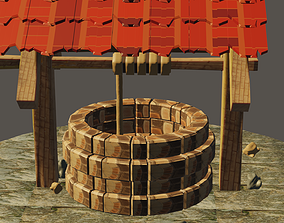 exterior Well 3D model