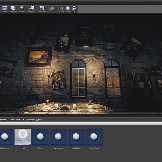 Working on Unreal Engine