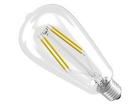 filament led light bulb 3D model