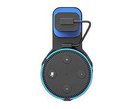 Active speaker with holder 3D model