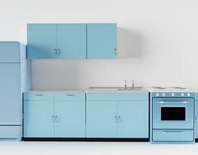 metal 3D model Vintage Kitchen