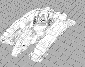 3D printable model White-Rider Conquest Tank - Special