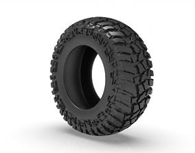 3D printable model cooper discoverer tyre