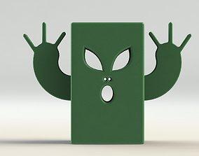 3D printable model Alien Pen Holder