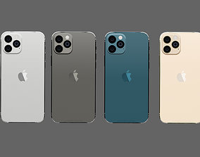 Iphone 12 PRO Modeling Rendering 5COLOR