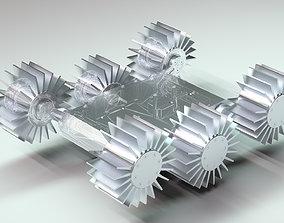 Robot platform mechanism 3D model