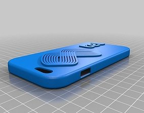 Mtel branded case for iPhone 6 and 6s 3D print model