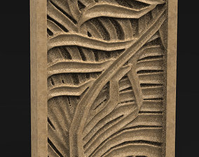 Decorative Panel Nature 2 3D Model