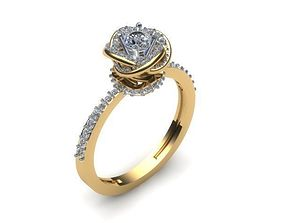 Engagement Ring Special Exclusive 3D printable model