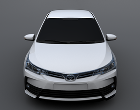 3D model Toyota Corolla 2018