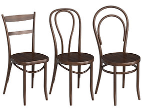 Thonet Chairs 3D