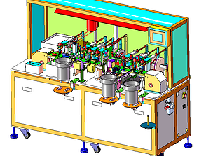 3D Cam assembly machine