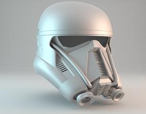 Death Trooper helmet V2 - Free for 3D printable model 3