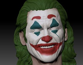 3D printable model Joker 2019 Smile head Joaquin Phoenix