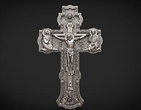 Orthodox cross jesus 3D printable model