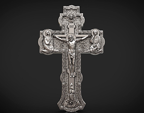 Orthodox cross holy 3D print model
