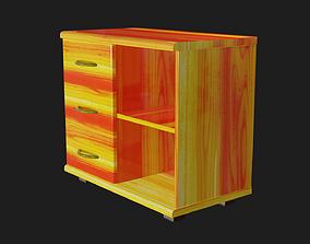 3D asset Bedside table PBR