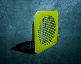 3D printable model ventilation grille