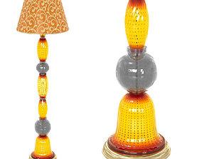 Arte Di Murano Viola Floor lamp 3D model
