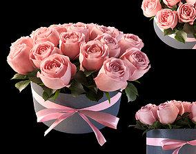 pink flowerbox 3D