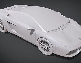 3D print model Lamborghini Gallardo