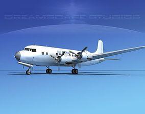 Douglas DC-6 Air America 3D