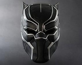 MARVEL Black Panther mask V2 3D printable model