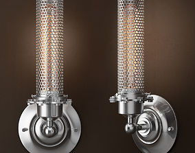 3D EDISON PERFORATED METAL SCONCE