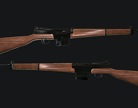 MAS-49 rifle 3D model