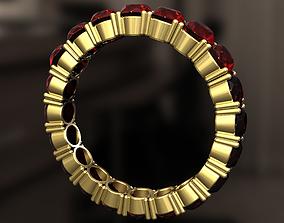 3D printable model Diamonds in pendandt Ring