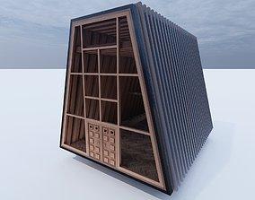 3D model Cabin Alt 1