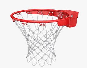 Basketball rim 3D