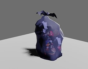 3D asset Trash Bag Garbage - Saco de Lixo