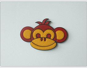 3D print model Magnet Monkey Boy