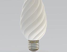 LED Manor Range Twisted Bulb 3D asset