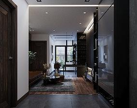Apartment - Black 3D model