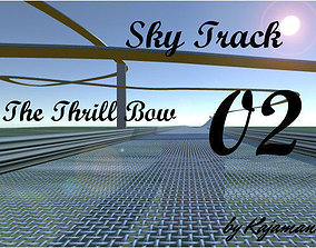 Sky Track The Thrill Bow 3D asset
