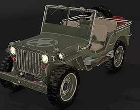 Jeep Willys 1942 3D model
