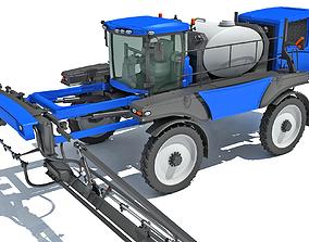 Front Boom Sprayer 3D model