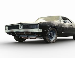 3D model coupe Dodge Charger