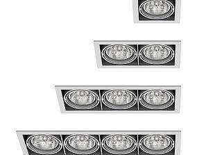 3D Deltalight Grid In spotlights