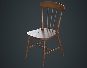 Kitchen Chair 2B 3D model