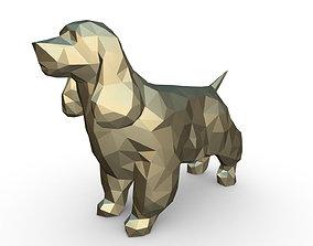 3D print model Cocker Spaniel figure