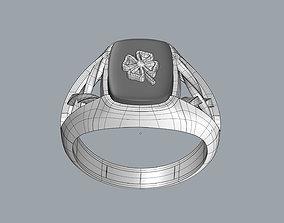 3D print model LUCKY Ring