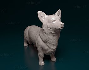 3D printable model animal Welsh Corgi Pembroke dog