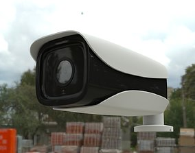 CCTV security camera High quality outdoor 3D model
