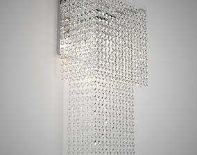 3D model Crystal Sconce Il Paralume Marina Art 1764 A