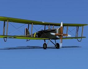 3D model Airco DH-4 V01 Trainer RAF