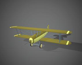 Airplane cartoon - 08 3D asset realtime